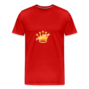 Fashion Kingz Clothing Official Crown Logo - Men's Premium T-Shirt