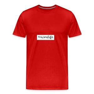 #momlife - Men's Premium T-Shirt
