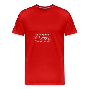 Ginger Strong White - Men's Premium T-Shirt