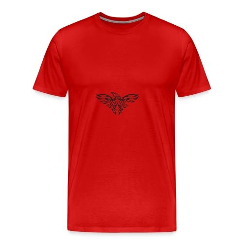 eagle flying tshirt - Men's Premium T-Shirt