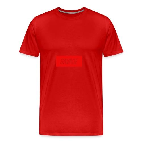 savage.pnggggggggggggg - Men's Premium T-Shirt