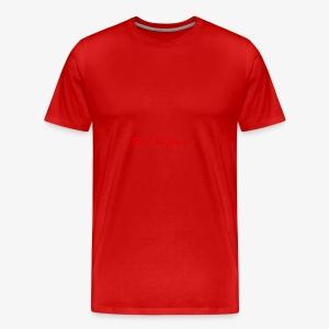 Run The Game Original Long Logo Design - Men's Premium T-Shirt