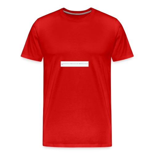 Blocked by Donald Trump on Twitter - Men's Premium T-Shirt