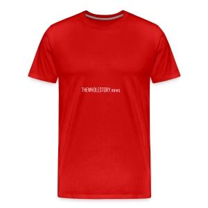 tws back logo - Men's Premium T-Shirt
