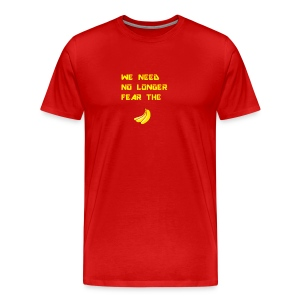 No fear the Banana - Men's Premium T-Shirt
