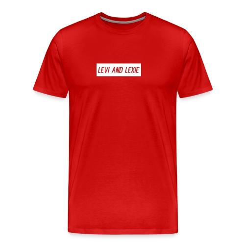 Levi and Lexie Classic Logo - Men's Premium T-Shirt