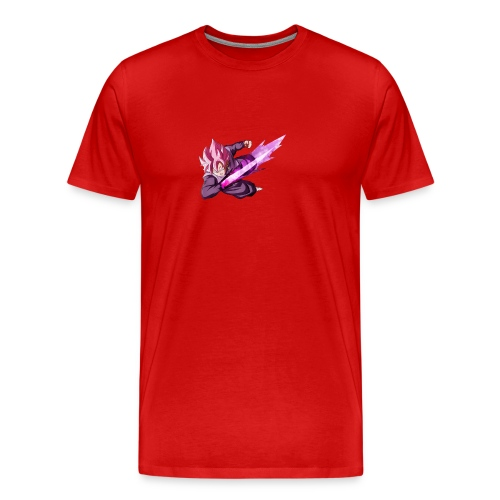 black goku ssj rose - Men's Premium T-Shirt