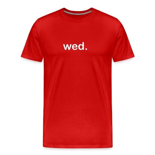 Wednesday - Men's Premium T-Shirt