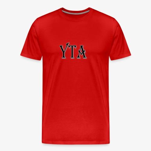 YTA Bold Lettering Print - Men's Premium T-Shirt