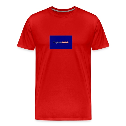 Pixlr vlogdude - Men's Premium T-Shirt