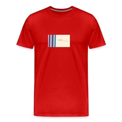 this is kids life - Men's Premium T-Shirt