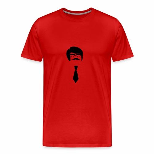 Hipster Guy - Men's Premium T-Shirt