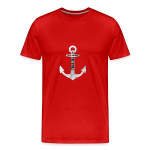 Anchor Hebrew 6:19 - Men's Premium T-Shirt