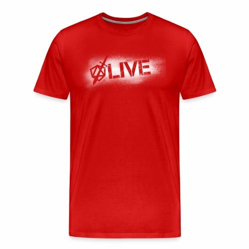 Dicey D20 Live Stream - Men's Premium T-Shirt