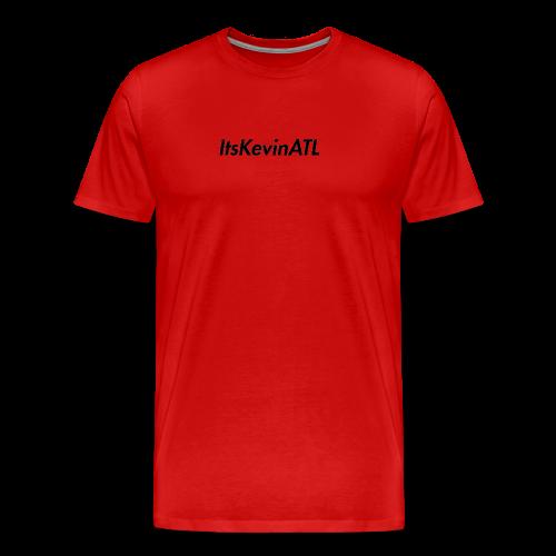 ItsKevinATL Simple Logo - Men's Premium T-Shirt