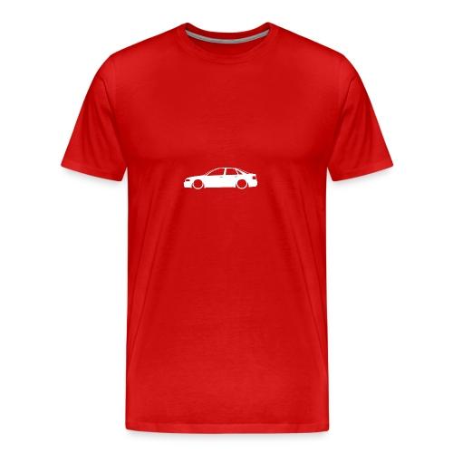 B5 outline - Men's Premium T-Shirt