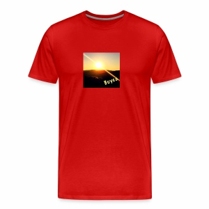 Sunset in the Valley - Men's Premium T-Shirt