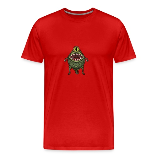 monster eye - Men's Premium T-Shirt