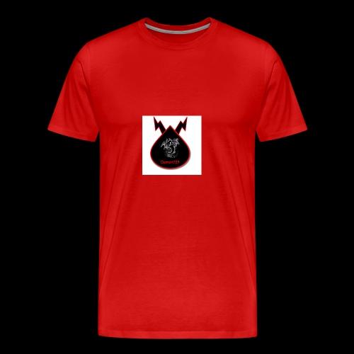 Demon729 logo - Men's Premium T-Shirt