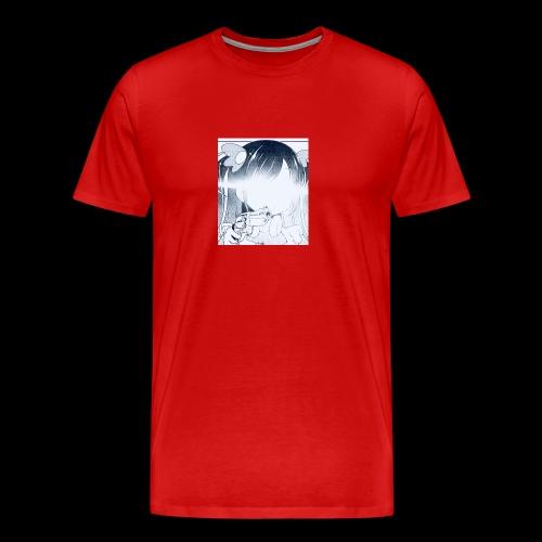 henshin.akuma anime loli - Men's Premium T-Shirt