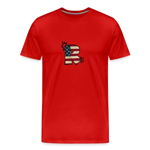 SuppzReviews R Logo - Men's Premium T-Shirt