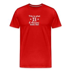 21st Birthday - Men's Premium T-Shirt