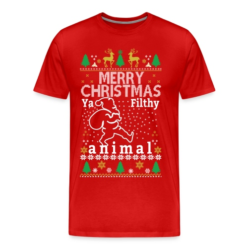 Merry Christmas from Johny ! - Men's Premium T-Shirt