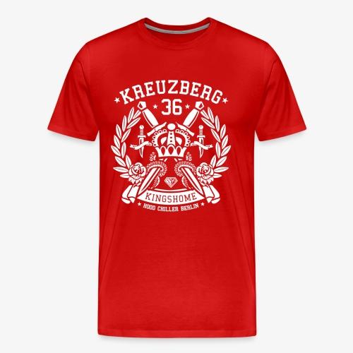 Kreuzberg 36 Krone - Hood Chiller Berlin - Men's Premium T-Shirt