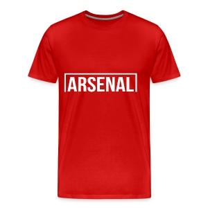Goal Arsenal White - Men's Premium T-Shirt