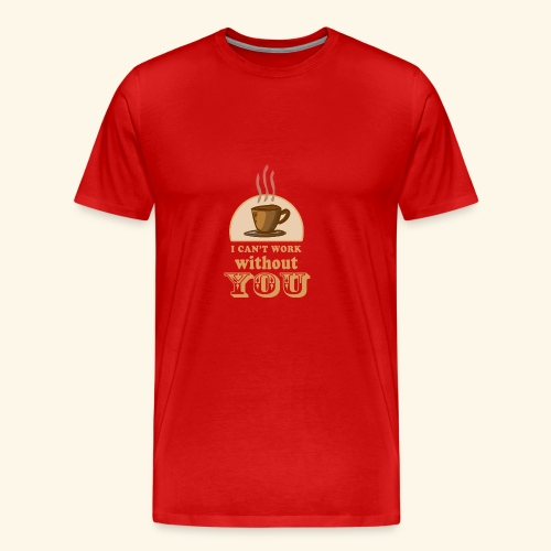 NEW Coffee Shirt - Men's Premium T-Shirt