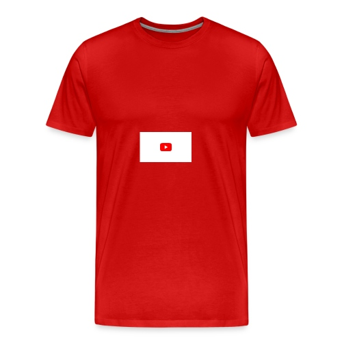 YouTube icon - Men's Premium T-Shirt