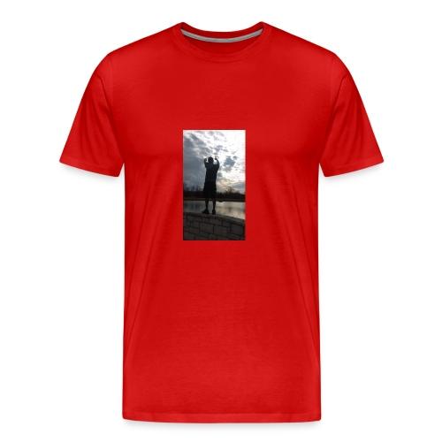 SKIES THE LIMIT - Men's Premium T-Shirt