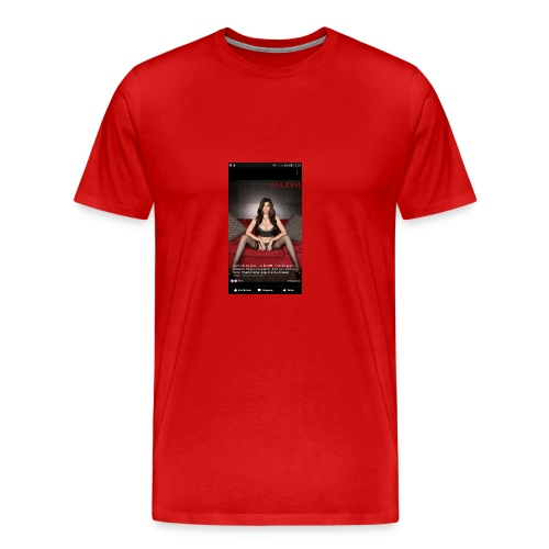 sexy girl - Men's Premium T-Shirt