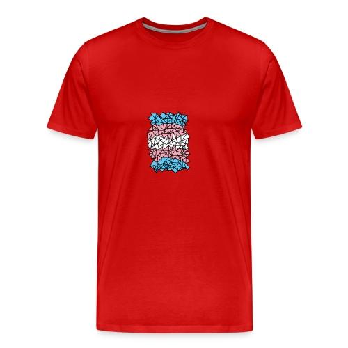 Transgender Crystallized Flag - Men's Premium T-Shirt