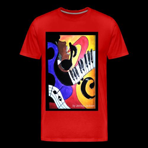 She Sings - Men's Premium T-Shirt