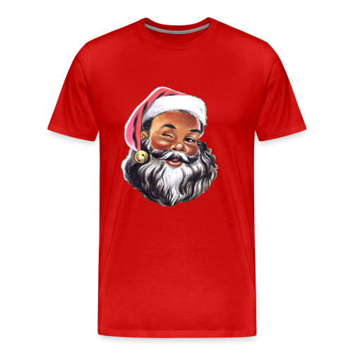 Black Santa - Men's Premium T-Shirt