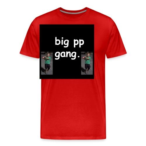 big pp gang - Men's Premium T-Shirt