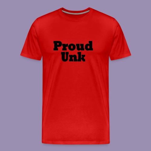 Proud Unk-Black - Men's Premium T-Shirt