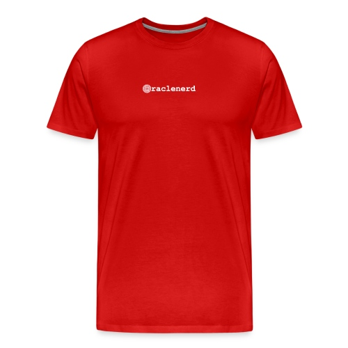 oraclenerdmexicoredtrans - Men's Premium T-Shirt