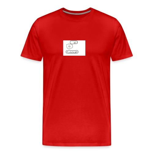 Derp Face! - Men's Premium T-Shirt