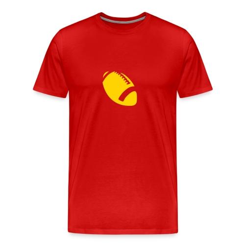 Football Design - Men's Premium T-Shirt