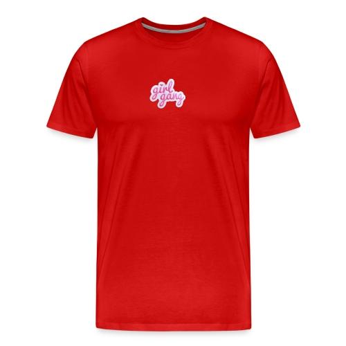 Girl Gang PNG - Men's Premium T-Shirt