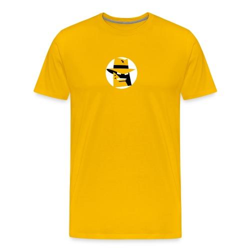 Robot Gangster Shadow - Men's Premium T-Shirt