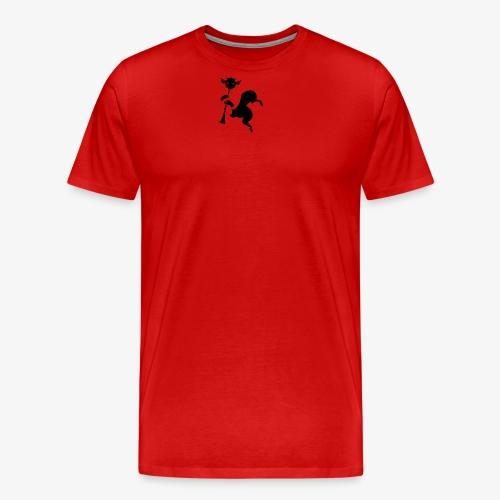 imagika black - Men's Premium T-Shirt