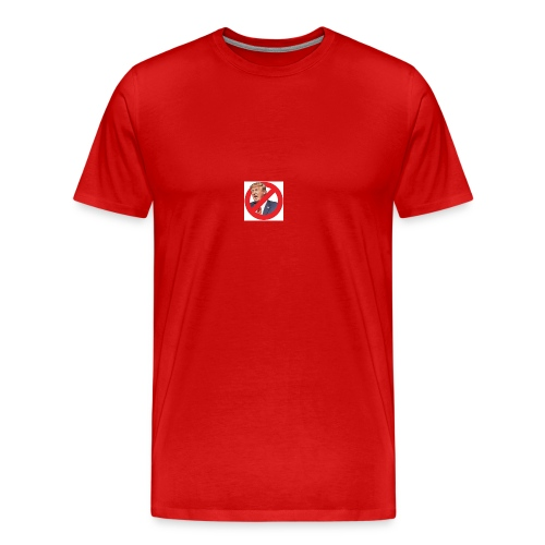 blog stop trump - Men's Premium T-Shirt