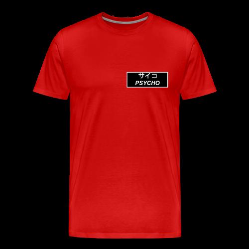 Kanji Pyscho - Men's Premium T-Shirt