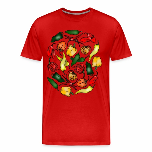 Chili Peppers - Men's Premium T-Shirt