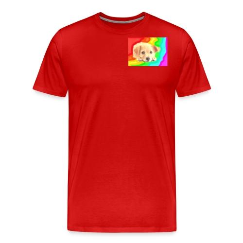 Puppy face - Men's Premium T-Shirt