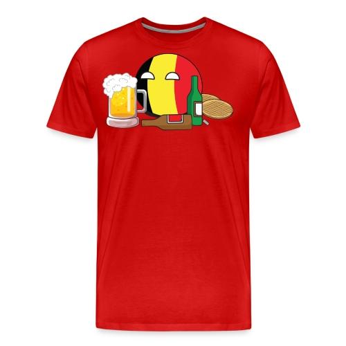 BelgiumBall I - Men's Premium T-Shirt