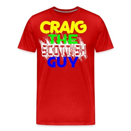 CTSGMultiColor - Men's Premium T-Shirt